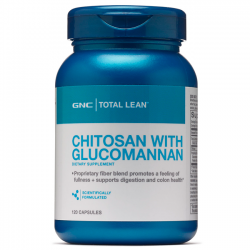 Chitosan with Glucomannan (120 caps) - GNC