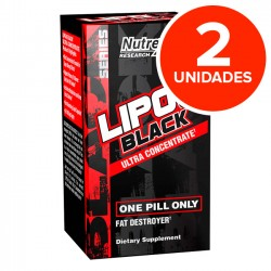 Lipo 6 Black Ultra Concentrado (2 unidades) - Nutrex