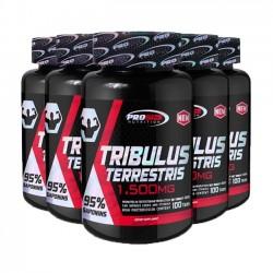 Combo 5 unidades: Tribulus Terrestris 1,500mg (100 tabs) - Pro Size Nutrition