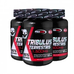 Combo 3 unidades: Tribulus Terrestris 1,500mg (100 tabs) - Pro Size Nutrition