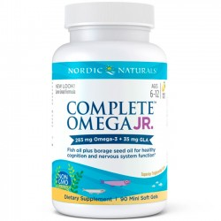 Complete Omega Junior (90 softgels) - Nordic Naturals