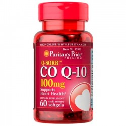 CoQ-10 100mg (60 softgels) - Puritan's Pride