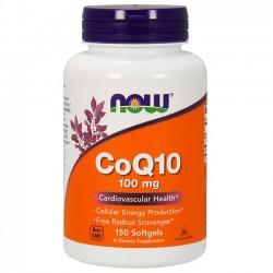 CoQ10 100mg (150 softgels) - Now Foods