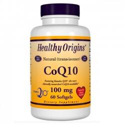 CoQ10 100mg (60 softgels) Healthy Origins (Suplemento)