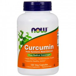 Curcumin (120 cápsulas) - Now Foods