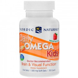 Daily Omega Kids (30 softgels) - Nordic Naturals