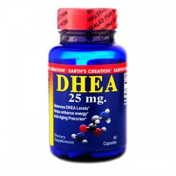 DHEA 25mg - Earths Creation