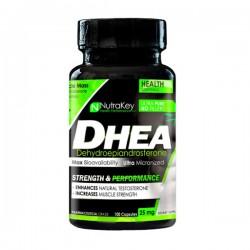 DHEA 25mg - 100 Cápsulas - NutraKey