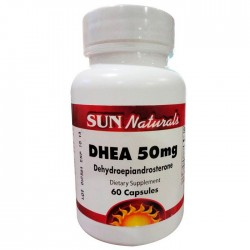 DHEA 50MG - Sun Naturals