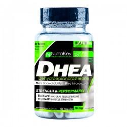 DHEA 50mg - 100 Cápsulas - NutraKey
