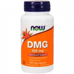 DMG 125mg (100 cápsulas) - Now Foods