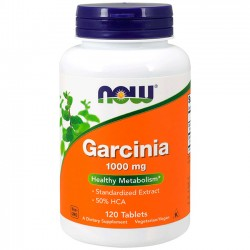 Garcinia 1000mg (120 tabletes) - Now Foods