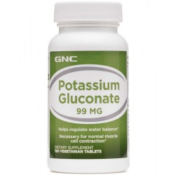 Gluconato de Potássio 99mg (100 tabs) - GNC