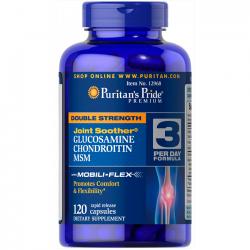 Glucosamine Chondroitin MSM (120 caps) - Puritan's Pride