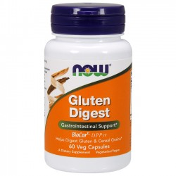 Gluten Digest (60 caps) - Now Foods