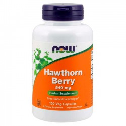 Hawthorn Berry 540 mg (100 caps)  - Now Foods
