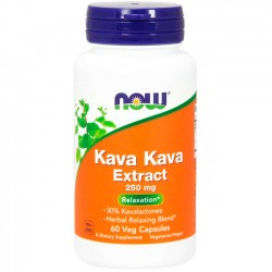Kava Kava Extract 250mg (60 cápsulas) - Now Foods