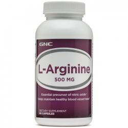 L-arginine 500mg (90 caps) - GNC
