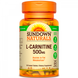 L-Carnitine 500mg (30 tabs) - Sundown Naturals