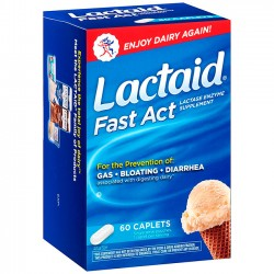 Lactaid Fast Act (60 caps) - Lactaid