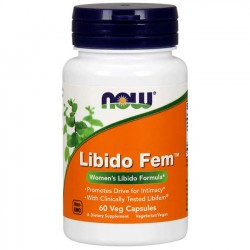 Libido Fem (60caps) - Now Foods
