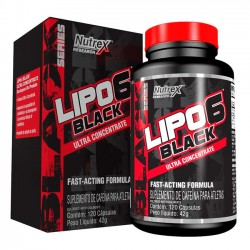 Lipo 6 Black Ultra Concentrado (120 caps) - Nutrex
