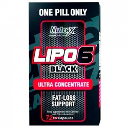 Lipo 6 Black Ultra Concentrado (72 caps) - Nutrex