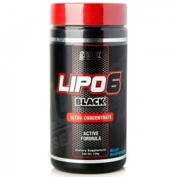 Lipo 6 Black Powder - 120g - Nutrex