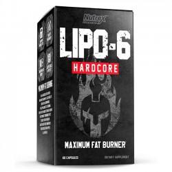 Lipo-6 Hardcore (60 caps) - Nutrex