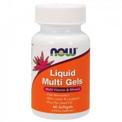 Liquid Multi Gels (60 softgels) - Now Foods