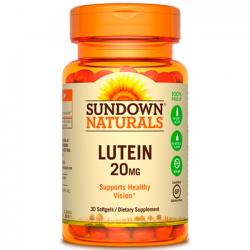 Lutein 20mg (30 softgels) - Sundown Naturals
