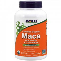Maca Pure Powder 6:1 Concentrado (198g) - Now Foods