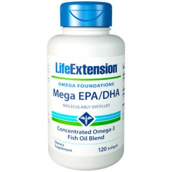 Mega EPA/DHA (120 softgels) - Life Extension