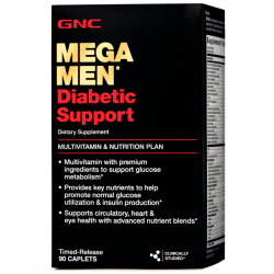 Mega Men Diabetic Support (90 caps) - GNC