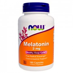 Melatonina 3mg (180 tabs) - Now Foods