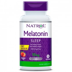 Melatonina 10mg (100 tabletes) - Natrol