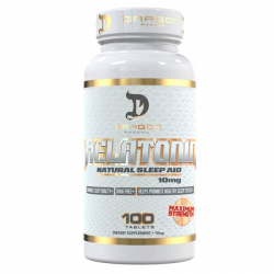 Melatonina 10mg (100 tabs) - Dragon Pharma