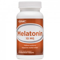 Melatonina 10mg (60 caps) - GNC
