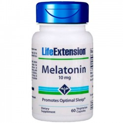 Melatonina 10mg (60 cápsulas) - Life Extension