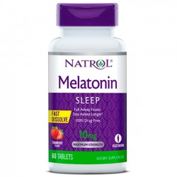 Melatonina 10mg (60 tabletes) - Natrol