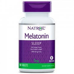 Melatonina 1mg (90 tabletes) - Natrol