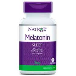 Melatonina 3mg (90 tabletes) - Natrol