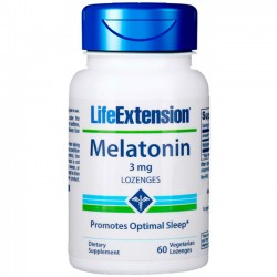 Melatonina 3mg (60 comprimidos) - Life Extension