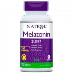 Melatonina Time Release (100 tabletes) - Natrol