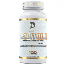 Melatonina 5mg (100 tabs) - Dragon Pharma