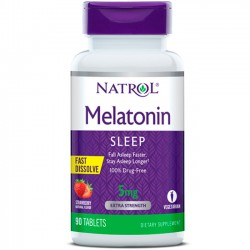 Melatonina 5mg (90 tabs) - Natrol