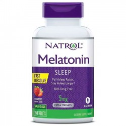 Melatonina 5mg (150 tabs) - Natrol