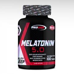 Melatonina 5mg (100 tabs) - Pro Size Nutrition