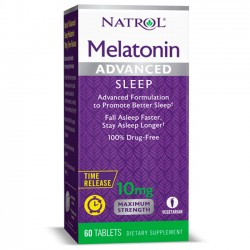 Melatonina Advanced Sleep 10mg (60 tabs) - Natrol