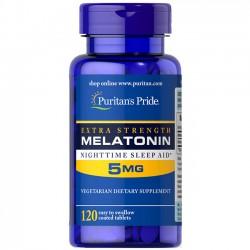Melatonina Extra Forte 5mg (120 softgels) - Puritan's Pride